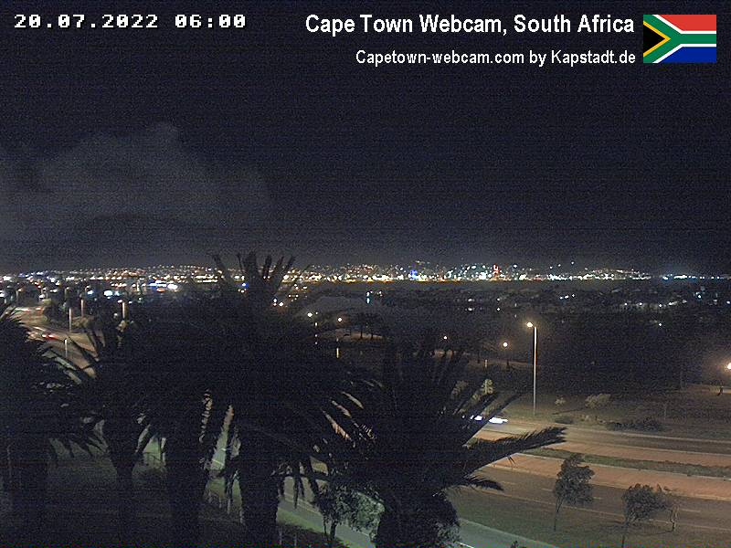 Kapstadt Webcam um 06:00