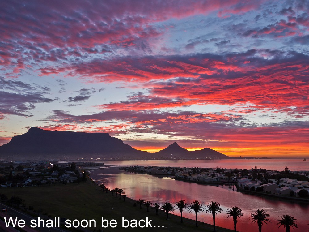 Table Bay and the Milnerton Lagoon Cape Town South Africa - Webcams Abroad live images