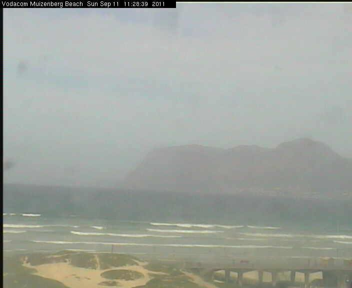 Muizenberg Webcam, Cape Town - South Africa